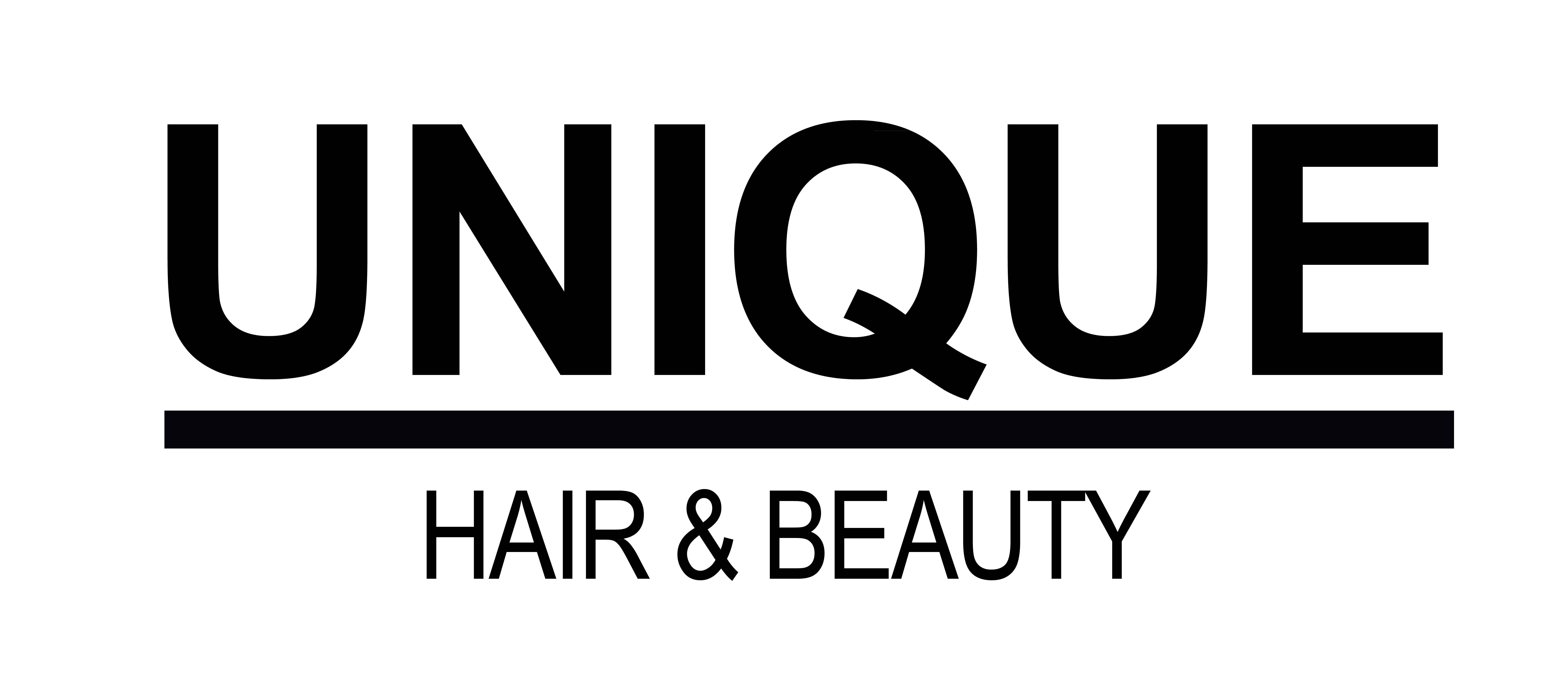 Unique Hair & Beauty Logo