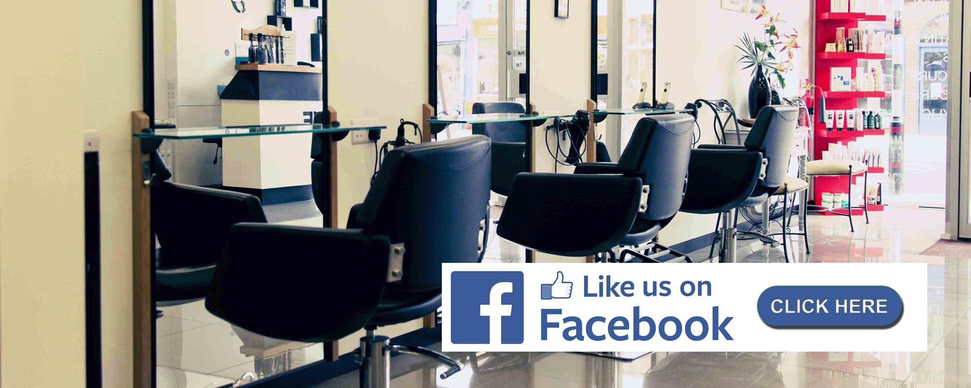 Unique Hair salon like us on facebook